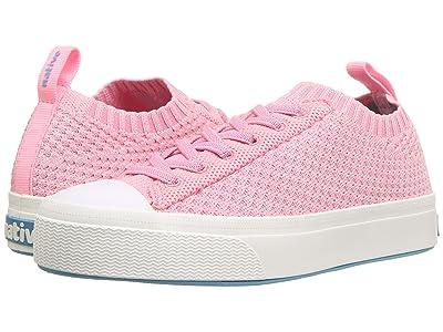 Native Kids Shoes Jefferson 2.0 Liteknit Low (Little Kid) (Princess Melange/Shell White) Girl