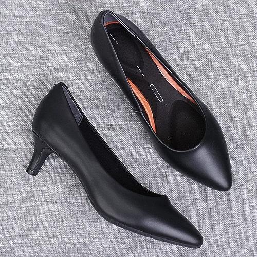 DHG Chaussures à Talons Hauts Blancs Chaussures Blanches,Noir,34