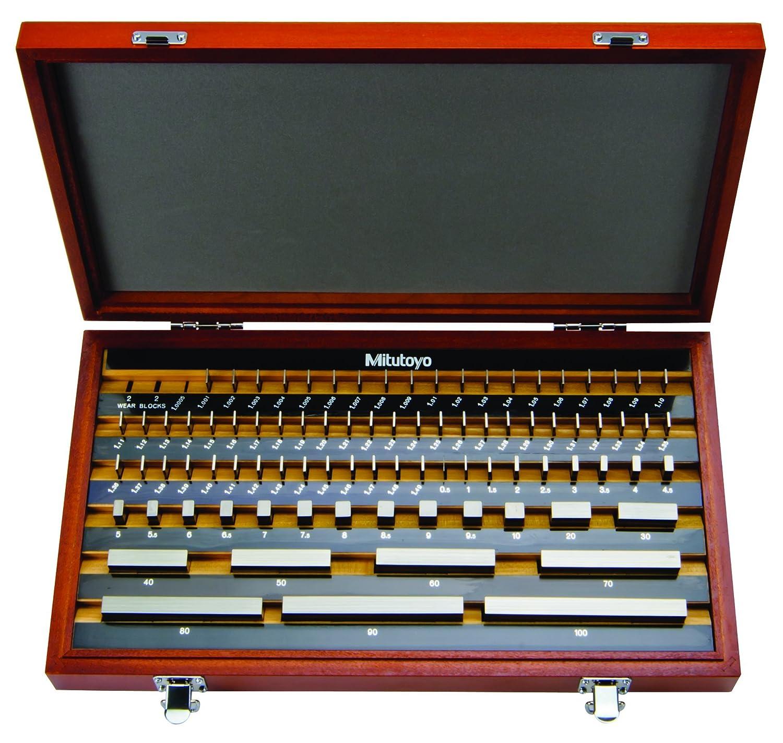 0.42 Length 0.42 Length ASME K Grade Mitutoyo 613210-516 Ceramic Rectangular Gage Block