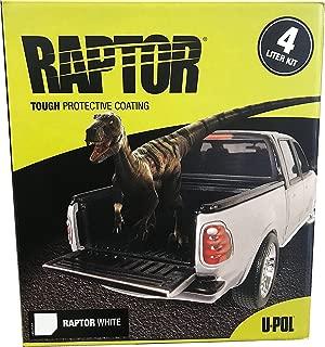 U-Pol Products RAPTOR WHITE NR 4L (UPL-UP4807)
