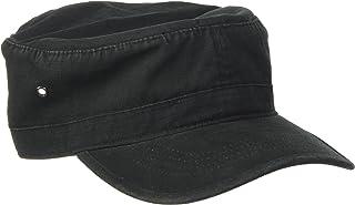 Cappello militare da motociclista in cotone Black Jungle Fletcher