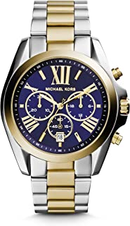 Michael Kors Bradshaw Women's Chronograph Wrist Watch - 43MM