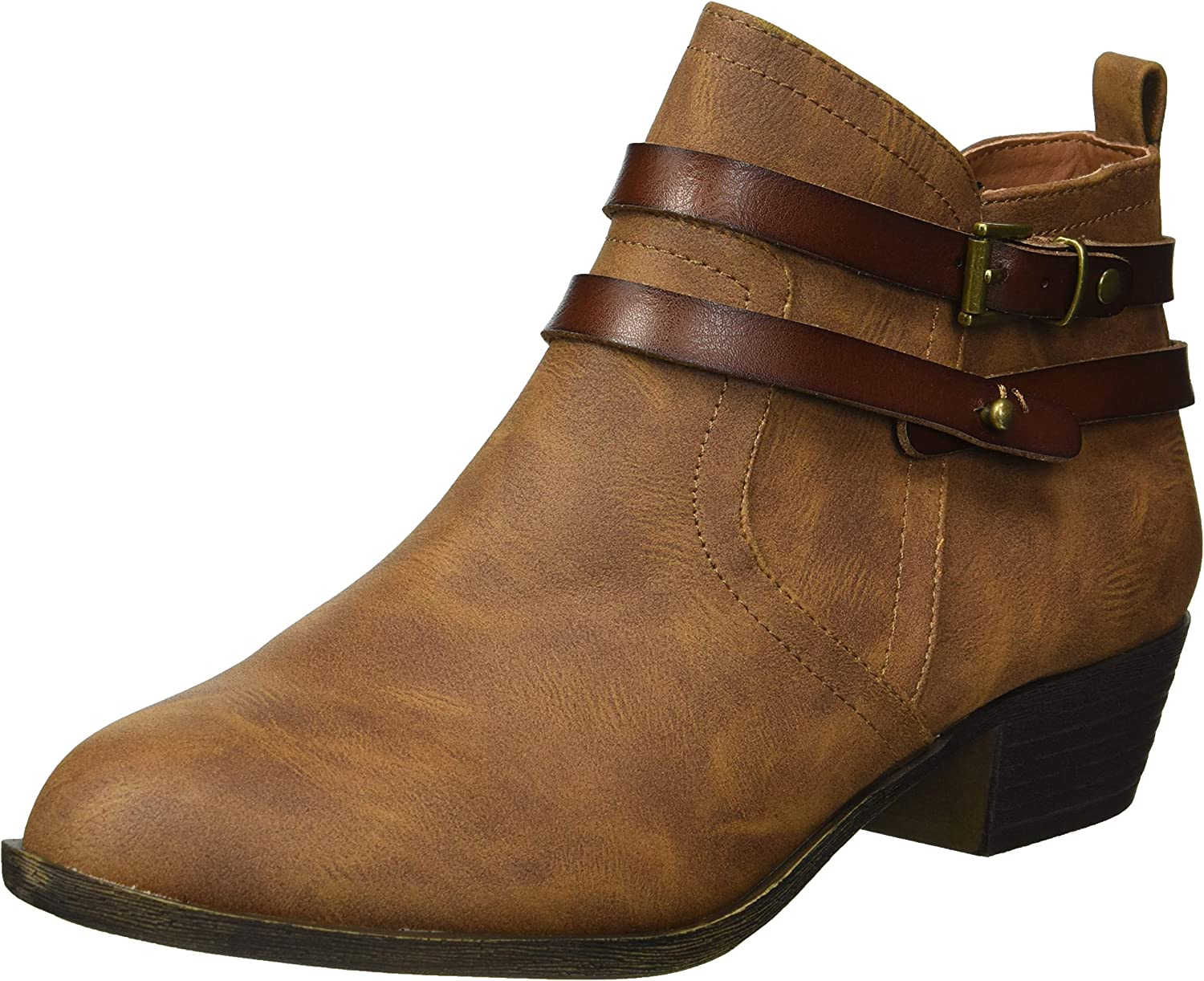 Madden girl Womens Baxxley Ankle Boot