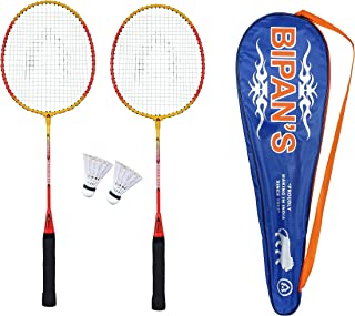Bipan's Badminton Racket Value Combo with Shuttlecock