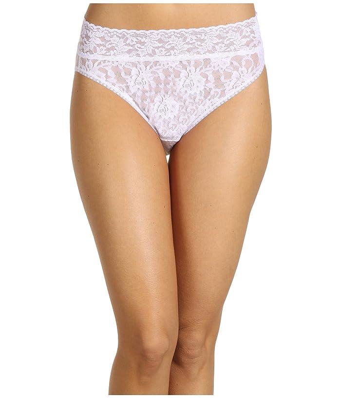 Hanky Panky Signature Lace French Bikini (White) Women's Underwear