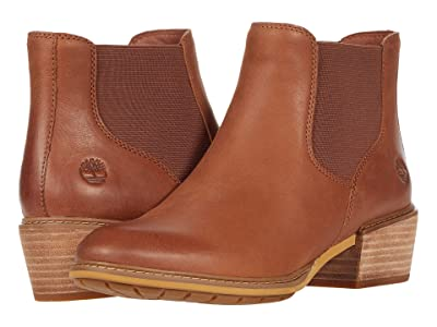 Timberland Sutherlin Bay Low Chelsea (Medium Brown Full Grain) Women