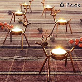 Best christmas tea candle holders Reviews