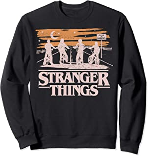 Netflix Stranger Things Night Silhouettes Sweatshirt