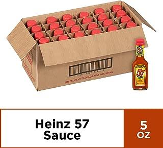 Heinz 57 Original Sauce (5 oz Bottles, Pack of 24)