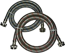 Best reinforced washing machine hoses Reviews