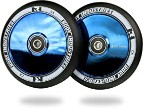 Root Industries AIR Wheels 110mm - Pro Scooter Wheels 110mm Pair - Scooter Wheels - Fits Most Setups - 24mm x 110mm - Bearings Installed - 90 Day Warranty - 110mm Scooter Wheels