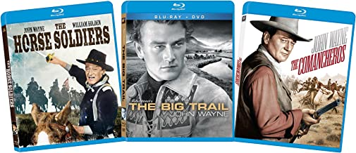 John Wayne: The Horse Soliders, The Big Trail, The Comancheros