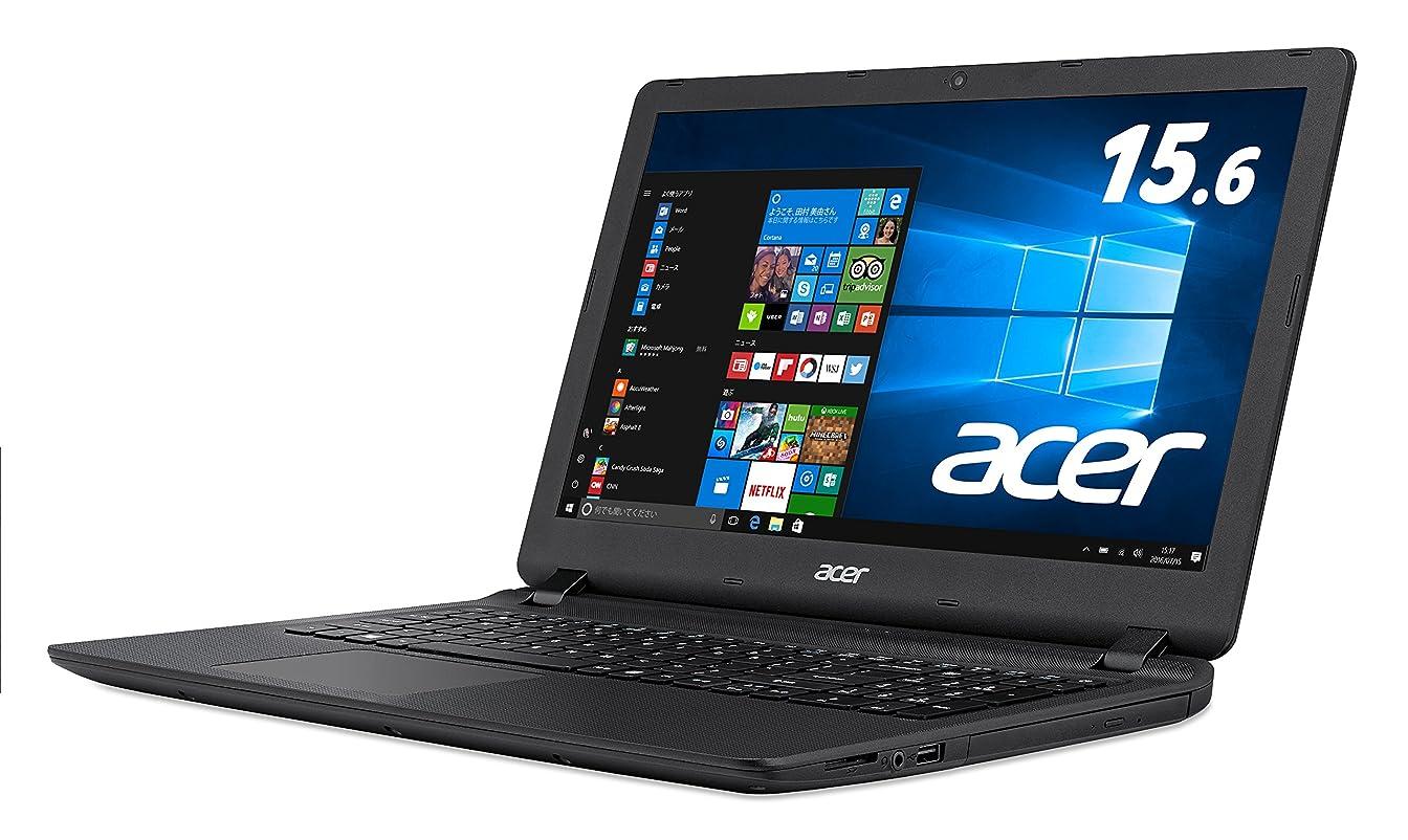 くつろぎ渦入学するAcer ノートパソコン AspireES15 ES1-533-H14D/K(ブラック) Windows10/Celeron/15.6インチ/4GB/500GB