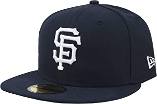 New Era 59Fifty Hat MLB San Francisco Giants Navy Blue Cap 11591104