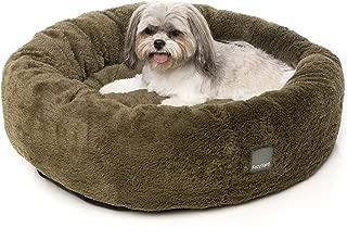 Fuzzyard Eskimo Bed, Moss Green, Medium