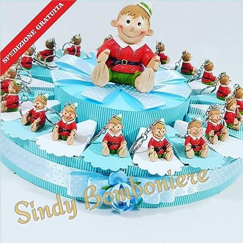 Tarta Decoración Niño Pinocho llavero envío incluye bautizo nacimiento
