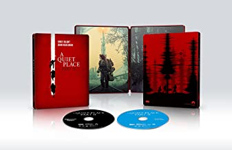 A Quiet Place Part II [4K UHD Steelbook] [Blu-ray]