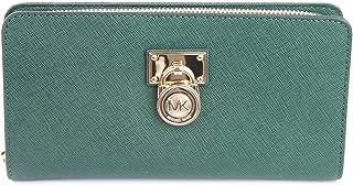 Michael Kors Moss Saffiano Leather Hamilton Travel Wallet