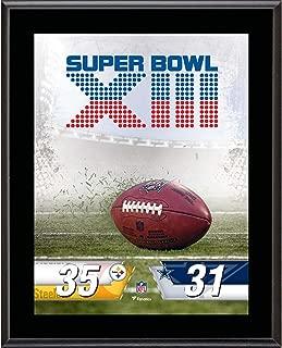 Pittsburgh Steelers vs. Dallas Cowboys Super Bowl XIII 10.5