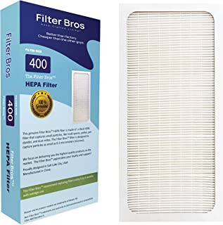 Genuine Filter Bros Replacement Filter for Blueair 400 Classic Series (402, 403, 405, 410, 450E, 455EB, 480i) HEPA Particle Filters Dander, Dust, Odors for Fresh Air and a Blue Sky (Particle)