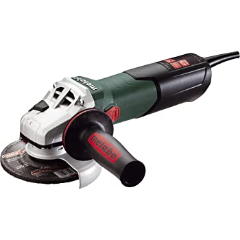"""Metabo- 5"""" Variable Speed Angle Grinder - 2, 800-9, 600 Rpm - 13.5 Amp W/Electronics, High Torque, Lock-On (600562420 15-125 HT), Concrete Renovation Grinders/Surface Prep Kits/Cutting"""