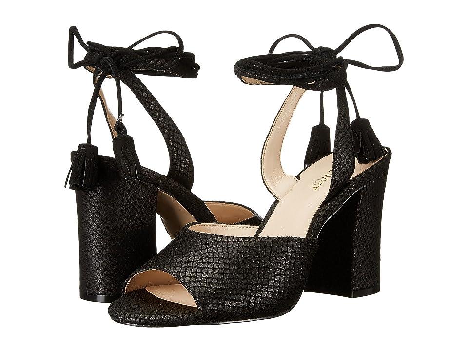 Nine West Bellermo (Black/Black Leather) High Heels