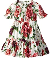 Dolce & Gabbana Kids - Poplin Peonie Dress (Toddler/Little Kids)