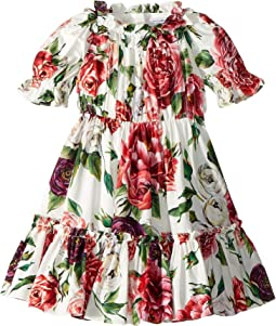 Poplin Peonie Dress (Toddler/Little Kids)