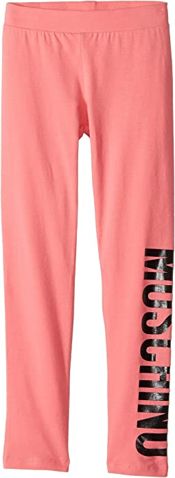 Moschino Kids - Logo Leggings (Little Kids/Big Kids)