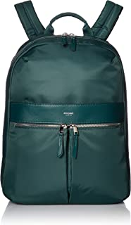 """Knomo Mayfair Beauchamp, 14"""" Laptop Backpack, Water-Resistant with RFID Pocket, Green"""