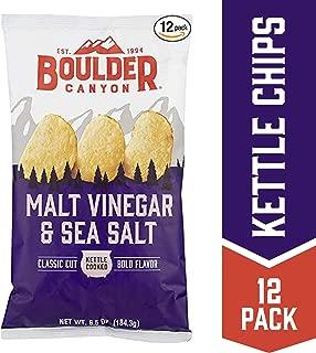Best boulder canyon malt vinegar and sea salt Reviews