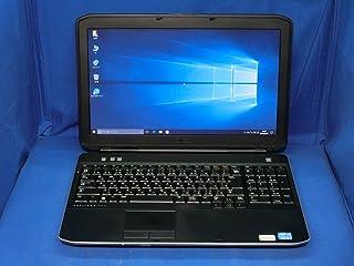 【中古】 デル Latitude E5530 ノートパソコン Core i5 3320M メモリ8GB 320GBHDD DVDスーパーマルチ Windows10 Professional 64bit P28G