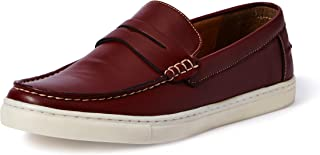 Amazon Brand - Symbol Men's Navy Casual Loafers