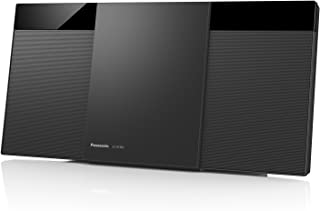 Panasonic Compact Stereo Micro Hi-Fi Audio System with DAB+ Radio and Bluetooth (SC-HC302GN-K)