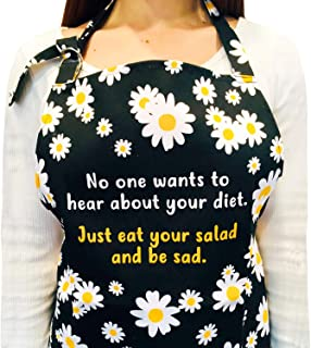 funny cooking aprons