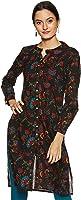 Amazon Brand - Tavasya Women's Cotton Regular Kurti
