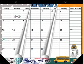 Magnetic Calendar 2019-2020 for Fridge by StriveZen, 17x12 inch, Large Monthly May 2019- Dec 2020, Strong Magnets for Refr...