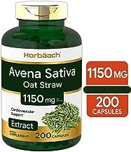 Avena Sativa Extract 1150 mg | 200 Capsules | Oatstraw Extract | Non-GMO, Gluten Free | by Horbaach
