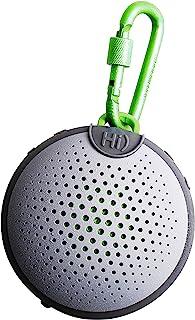 BoomPods Aquablaster Bluetooth Speaker with Amazon Alexa - Integrated-Gray - Waterproof/Shockproof Wireless Speaker For Ou...