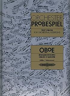 Repertorio Orquestal - Orchester Probenspiel (Test Pieces) para Oboe y Corno Ingles (Libro) (Millert)