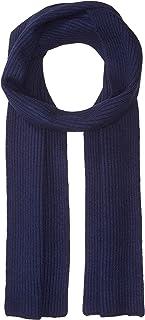 Williams Cashmere Men's Cashmere Rib Knit Scarf