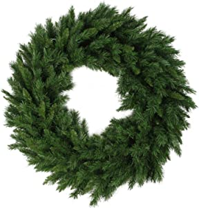 Northlight V03944 Lush Mixed Pine Artificial Christmas Wreath, 24""