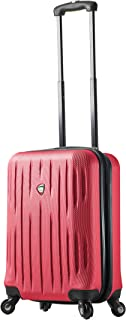 Mia Toro Italy Fabrii Hardside Spinner Carry-on, Pink