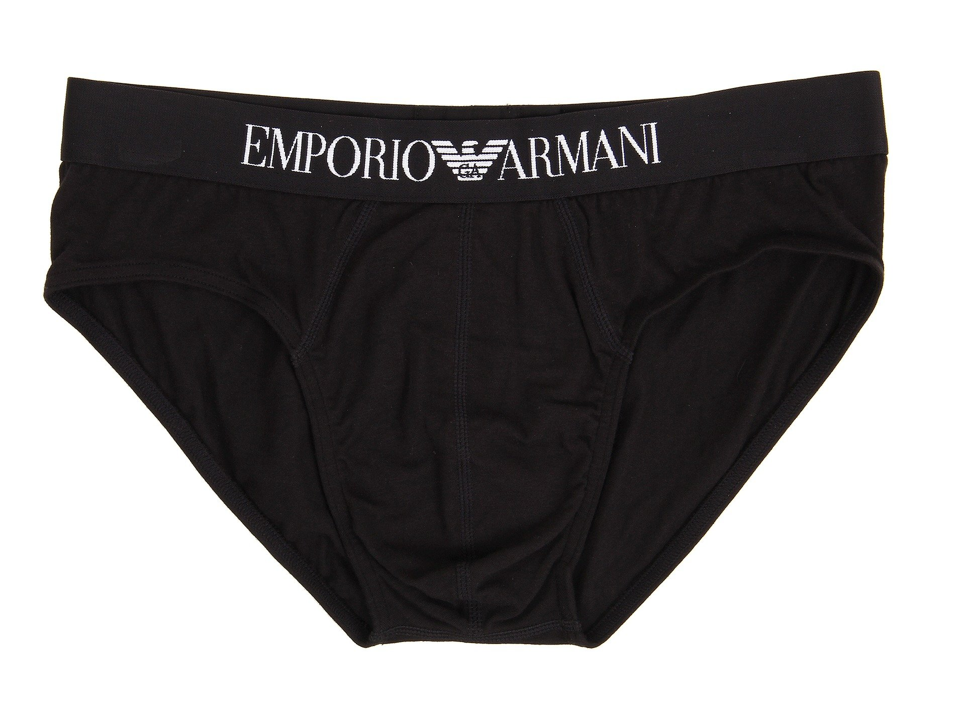 Classic Cotton Brief Black Armani Emporio Stretch Y1q66S
