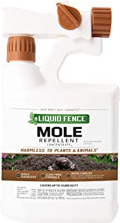 Liquid Fence Mole Repellent Concentrate Ready-to-Spray, 32-Ounce 4-Pack