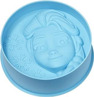 Geda Labels Molde de Silicona Disney Frozen con diseño de Elsa, para Tartas, Color