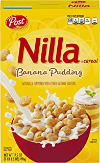 Post Nilla Banana Pudding Cereal 17.5 Ounce