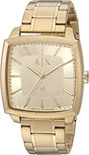 Armani Exchange Men's AX2364 Gold Watch