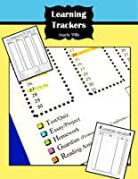 3 Learning Trackers for Students!Homework/Reading/Grade Trackers