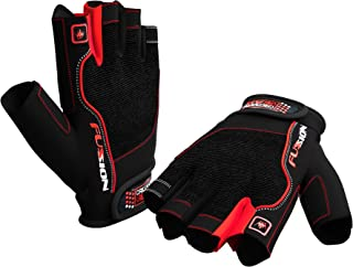 Weightlifting Gloves for Crossfit Workout Training - Fitness Cycle & Gym Gloves for Men or Women - Best Gloves for Weight Lifting Biking Exercise W. Wrist Closure - Enhance Your Grip and Eliminate Blisters & Calluses - 1 Year Replacement Warranty